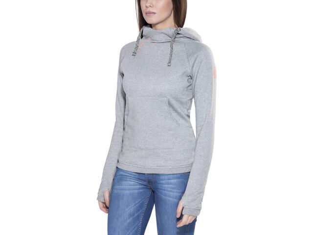 Edelrid Spotter Veste à capuche Femme, grey